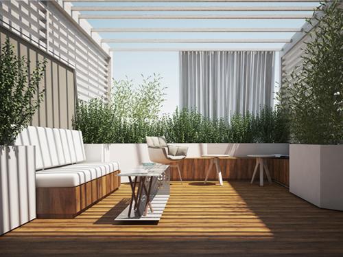 Emejing Progettazione Terrazze Gallery - Design Trends 2017 ...